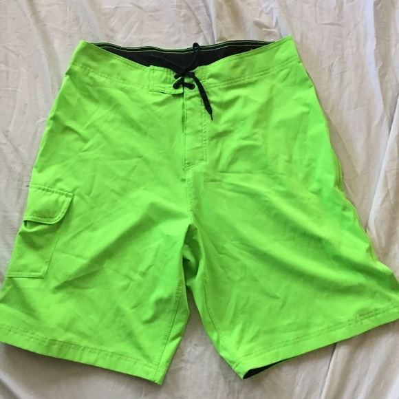 0a1495b673 burnside Swim | Board Shorts Mens 34 Fluorescent Green | Poshmark